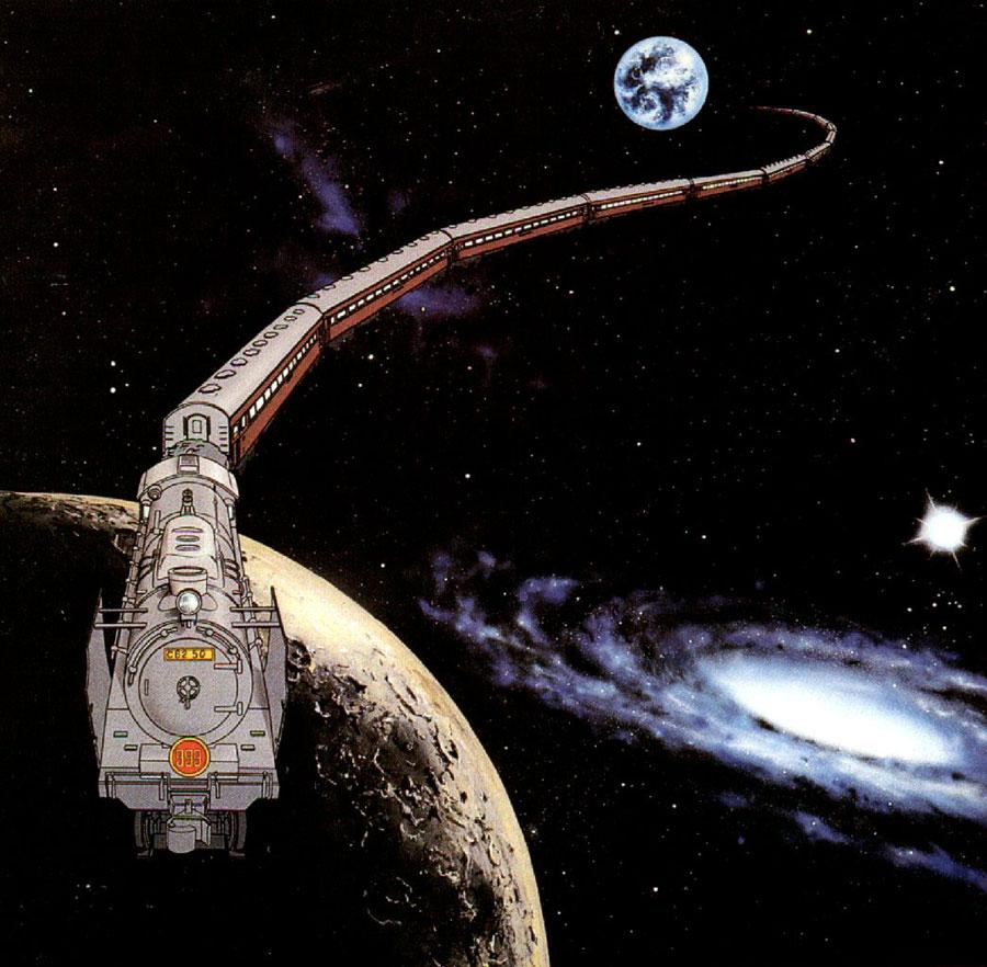 銀河鉄道999 : 乗れたら気分爽快?夢のような架空の乗り物37選 - NAVER まとめ